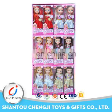 Hot sales 10 inch fashion doll prototype manufacturers