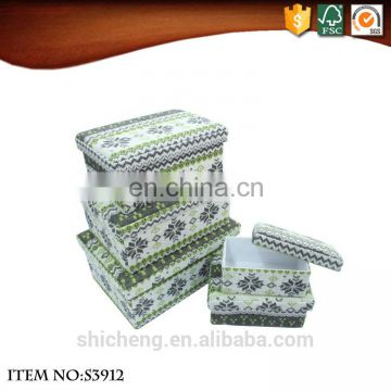 Factory Supplied Eco-friendly Fabric Storage Box for Kids