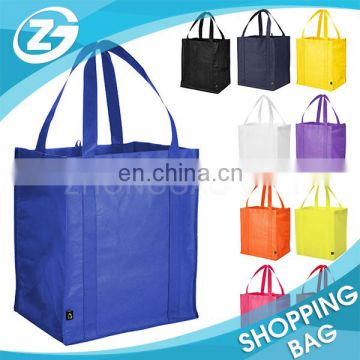 Fashion 100% Eco Friendly Handled Promotion Gift Nonwoven PP Tote Bag for Market