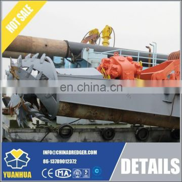 800m unload hydraulic system cutter section dredger