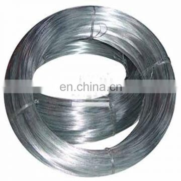 nail making raw materials low carbon hot dipped galvanized steel wire