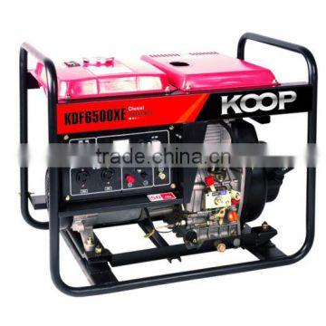 KDF6500XE Air Cooled Diesel Generator