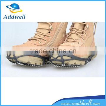Antiskid shoe cover thread spring traction crampons