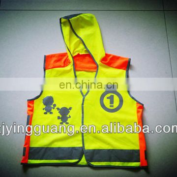School Reflective Vest, Different Sizes and Patterns are Available