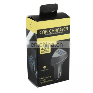 New Coming 12V New Alloy Shell 3.1A 2-Port Usb Universal Mini Usb Metal Car Battery Charger With 4.8 a Output