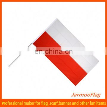 promotional fan hand painted flag