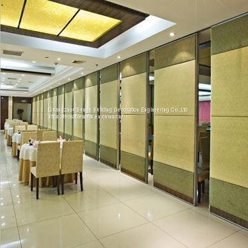 Banquet hall Sliding Folding Movable Partition Wall