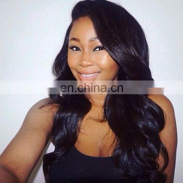 small cap size lace front wig body wave human hair doll wig for black woman high ends wig