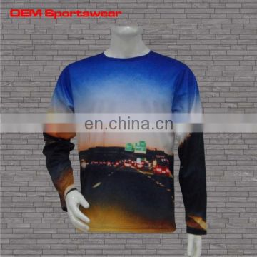 Custom long sleeves private label t shirt