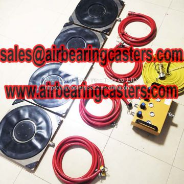 Air bearing casters price list with quality certificate