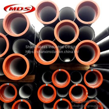 iso2531 di ductile iron pipe k9 weight