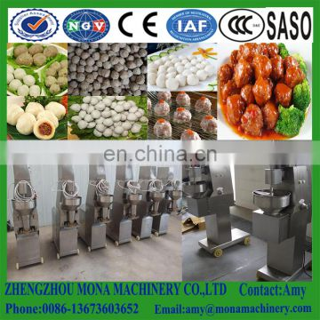 Hot sale Electric Fish food ball making machine/meatball rolling maker machine