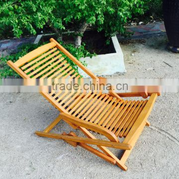 Relax Chair Wooden Outdoor Furniture