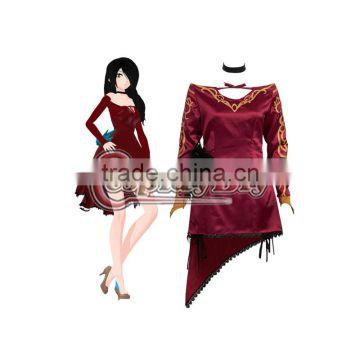 rwby cinder fall cosplay costume dress custom made for halloween