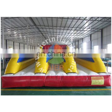 high quality three lanes bungee run/inflatable racing game