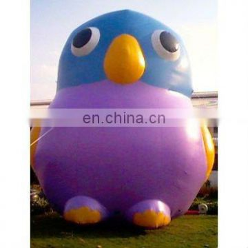 Inflatable chick cartoon birdie character shape