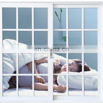 europe style plastic sliding window grill design w
