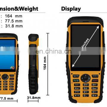Multifunction Rugged Handheld Computer with GPS arcode scanner and WiFi (S200)