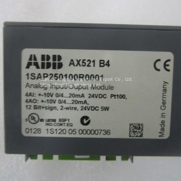AX521 ABB  in stock and the price is very favorable ~AI625