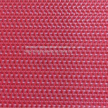 Polyester dryer fabric for drying conveyor belts