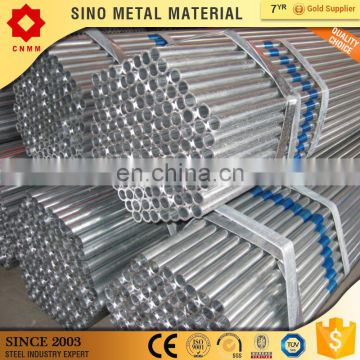 supplier chilled water galvanzied pipes weld pre galvanized steel pipe/tube