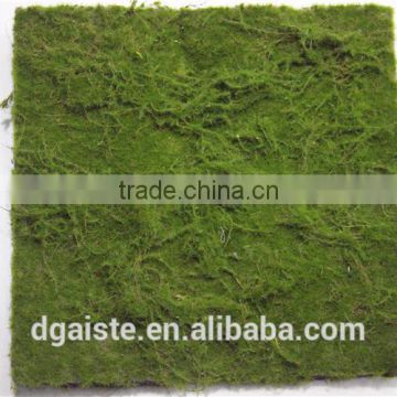 wall decoration indoor ornament man made thick moss