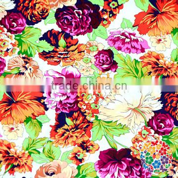2017 New Fashion Cute Pieces 100% Organic Cotton Fabric Jacquard Cotton Printed Fabric