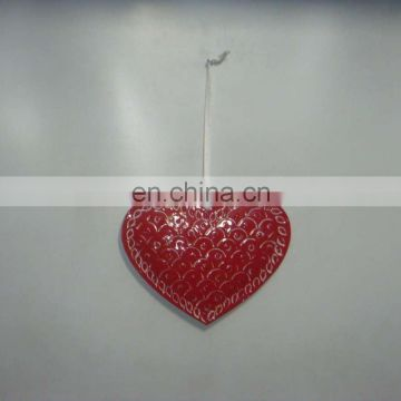 Heart Christmas Hanging Ornaments