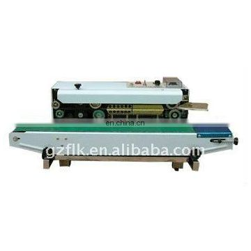 Horizontal film heat sealing machine