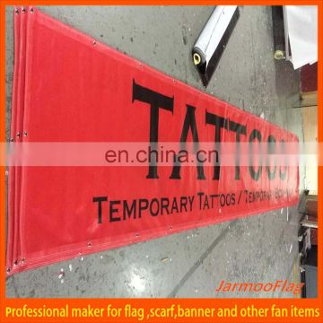 hanging promotion outdoor banner