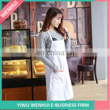 Most popular wholesale professional customized logo printed cotton aprons