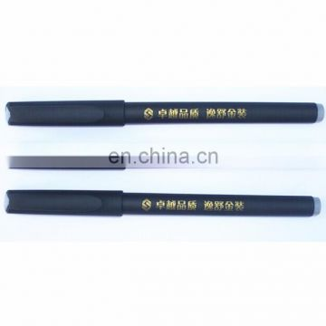 Gel Ink Pens Extra Fine Point - 0.5 mm - Black Ink with customized logo