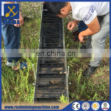 Gold mining sluice box highbanker gold prospecting equipment for sale