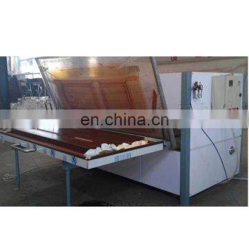 Vacuum Wood Grain  finish heat Transfer Machine For Wooden Door, steel door