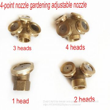 4 points copper nozzle