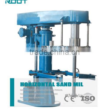Single shaft tooth disc impeller high speed agitator for paint