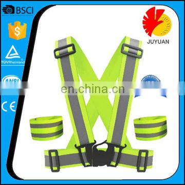 High Visibility Safety Uniform Reflective Running Security Vest