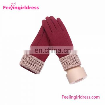 Drop Shipping Touch Screen Gloves Women Winter Gloves