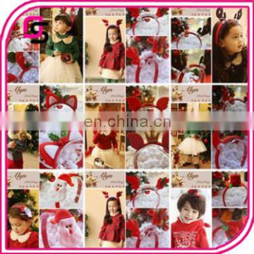 Trendy cute high quality baby headband hot sale for christmas