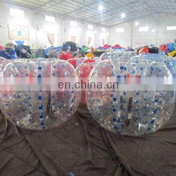 Golden supplier bubble knocker ball soccer with great price