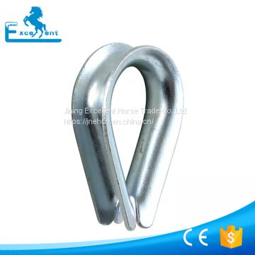 Galvanized Steel Wire Rope Thimble
