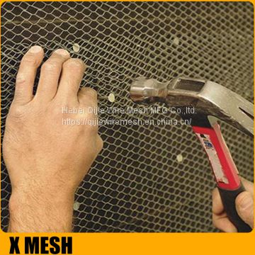 Construction Spray Mesh Stucco Plaster Mesh High Rib Lath 3/8''