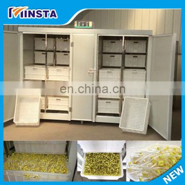 Hydroponic Crop Bean Sprouts Making Machine Agriculture Seed Sprouting And Planting Machine With Touch Screen