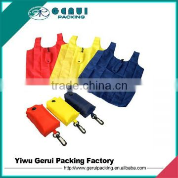 recycled polyester foldable bag