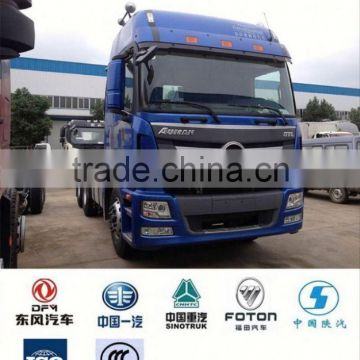 hot sale foton truck tractor, tractor with cummins engine