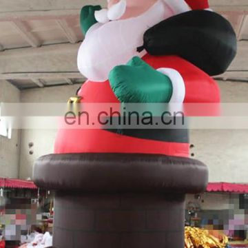 customized beautiful Hot selling inflatable Father Christmas,outdoor xmas inflatable Santa