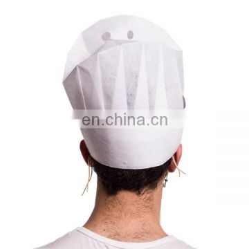 Chefs White Paper Hats Disposable Restaurant Hotel Chef Caps