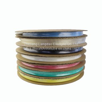 PE material heat shrinkable tubing cable wire insulation sleeve