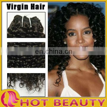 Hot Beauty Hair Peruvian Har Kinky Curl Bulk Hair