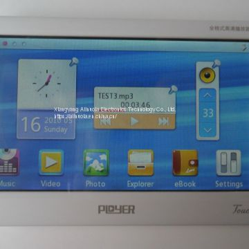Brand New `ployer P299T `4.3 inch MP5 player HD videos 720p High Quality Free Shipping